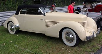 1937 Cord 812 Phaeton, Lime Rock