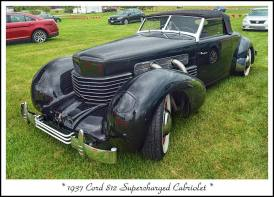 1937 Cord 812 Supercharged Cabriolet f