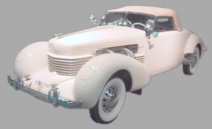 1937 Cord Front Drive Model 812