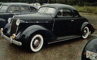 1937 Nash LaFayette 6 cyl., all purpose coupe