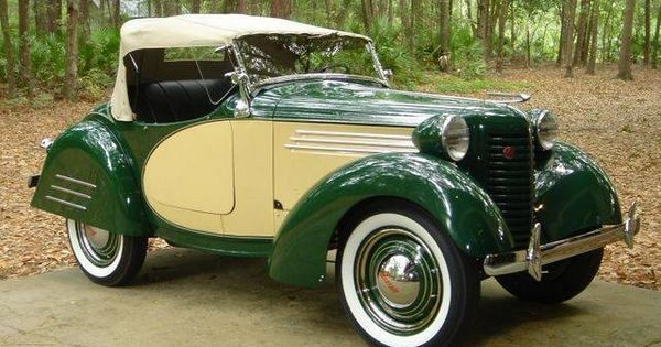 1938 American Austin Bantam Roadster - Car Restoration