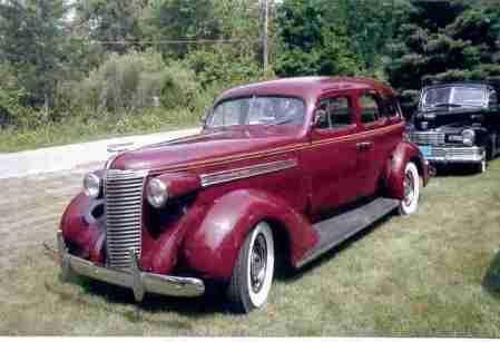 1938 Nash Ambassador 8 cyl., Mdl nelson