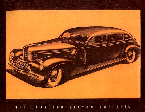 1939 Chrysler imperial sedan