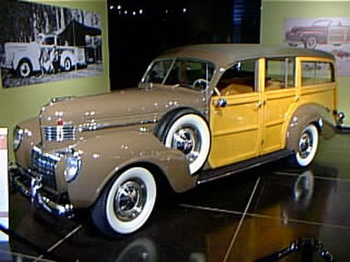 1939 Chrysler Woodie Wagon