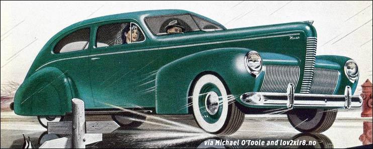 1940 nash cars