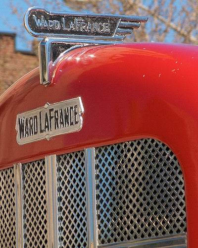 1940 Ward LaFrance Radiator and Shield