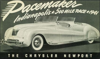 1941 Chrysler dual phaeton