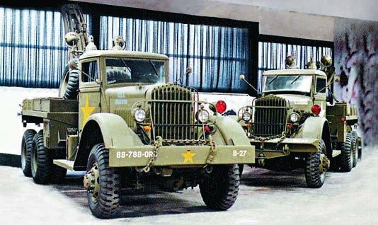 1941 Ward LaFrance 1000 series 1 (М1), 6x6