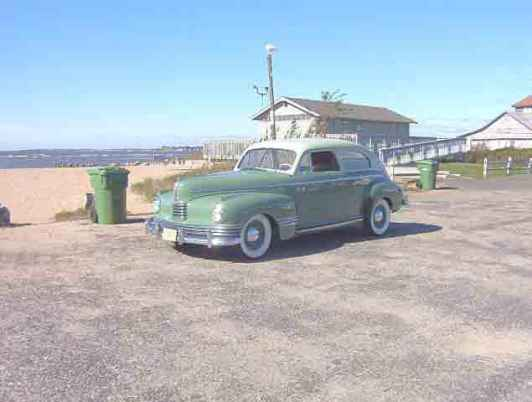 1942 Nash Ambassador, 6 cyl., 2 dr. Sedan