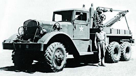 1942 Ward LaFrance 1000 series 2 (М1), 6x6