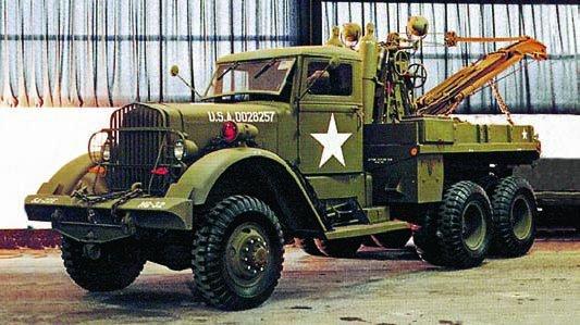 1943 Ward LaFrance 1000 series 4 (М1), 6x6