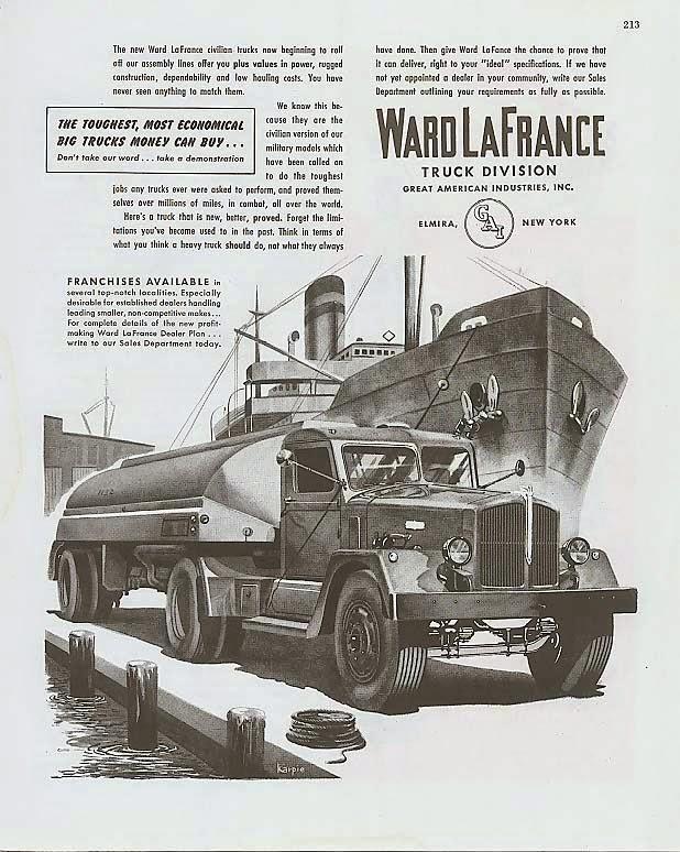1945 Ward LaFrance Ad trk003