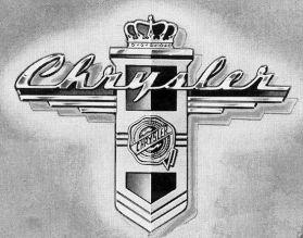 1946-1948 Chry Badge