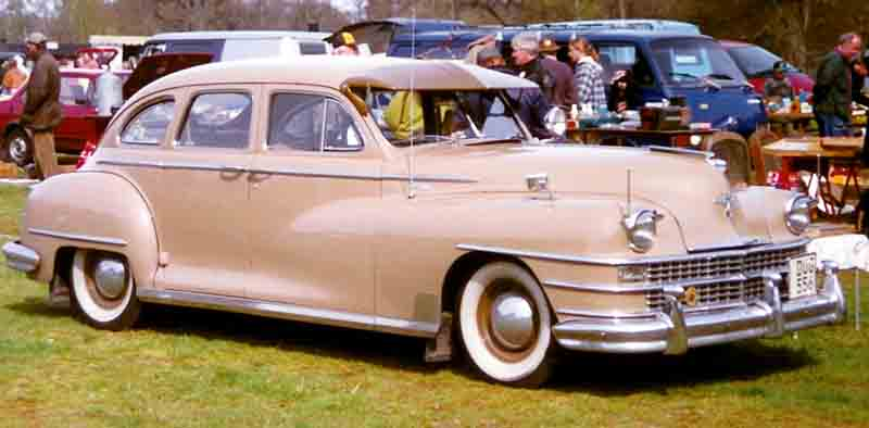 1946 Chrysler Windsor 4-Door Sedan