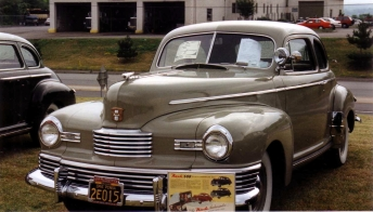 1946 Nash 600, grey two-door sedan