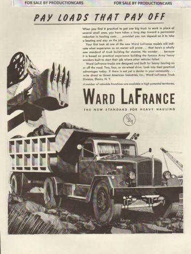 1946 Ward LaFrance Dump Truck