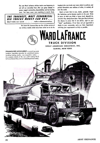1946 Ward LaFrance Tanker Truck