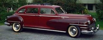 1947 Chrysler imperial crown sedan