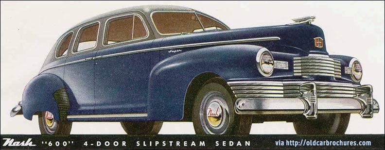 1947 nash 600 ad