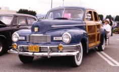 1947 Nash Suburban 4-door Slipstream wood IL
