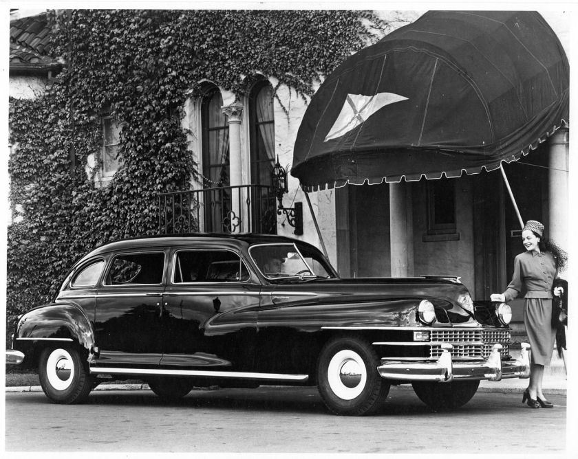 1948 Chrysler Imperial Crown Limousine