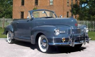 1948 Nash Ambassador Custom Convertible