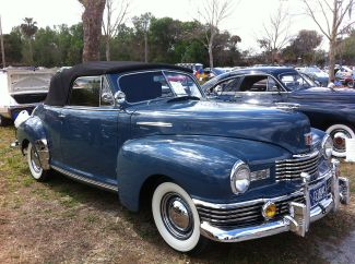 1948 Nash Ambassador Series 4860 Convertible