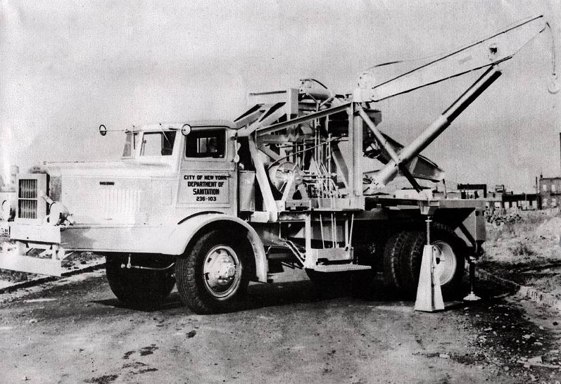 1948 Ward LaFrance wrecker for the City of New York