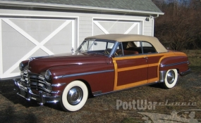 1949 Chrysler New Yorker Town & Country Convertible Coupe