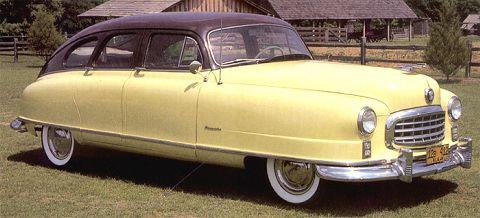 1949 Nash Ambassador Super Fastback