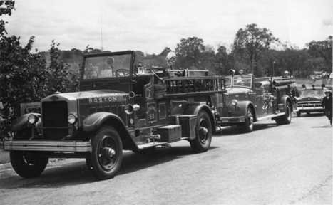 1950 American LaFrance photo rigs engine 55c