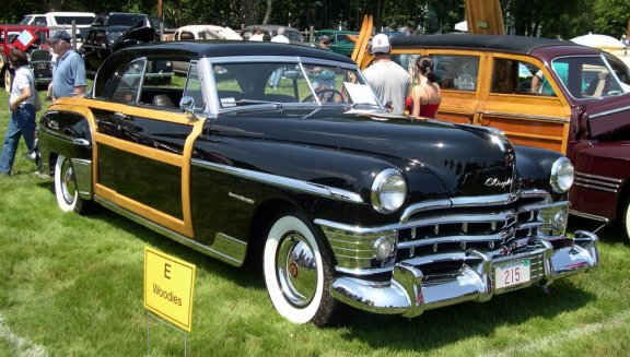 1950 Chrysler Windsor Newport Coupe Town & Country