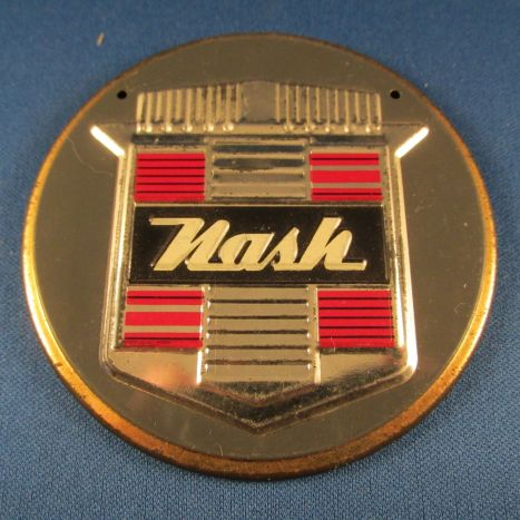 1950 NASH 1950s Wheaties Cereal Premium NASH Car Emblem Badge Sign Vintage
