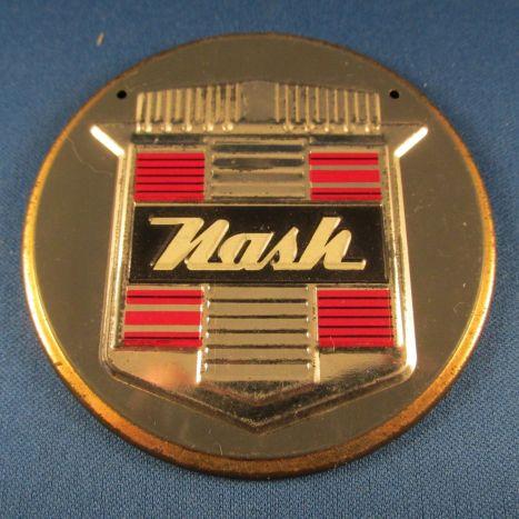 1950 NASH 1950s Wheaties Cereal Premium NASH Car Emblem Badge Sign Vintage