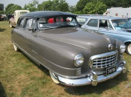 1950 Nash 600 Series 4948 Super Sedan