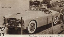 1950 nash healey london