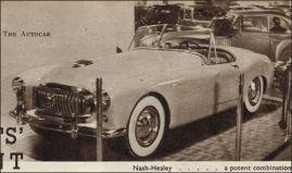 1950 nash healey london