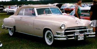 1951 Chrysler Imperial C-54 series Convertible