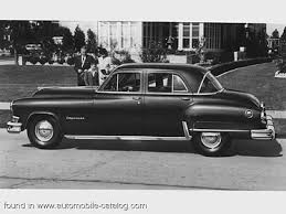 1951 Chrysler Imperial Sedan Fluid-Matic