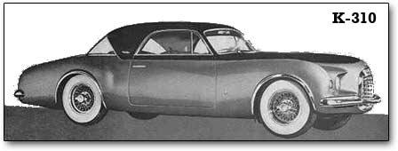 1951 Chrysler K-310 concept car