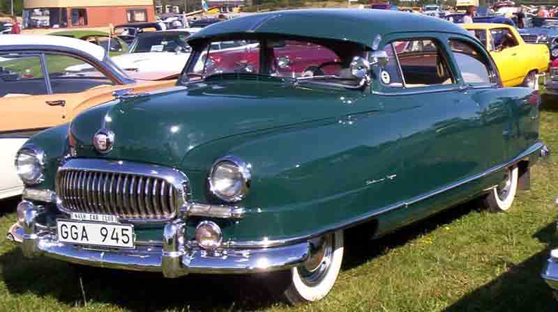 1951 Nash Statesman 2-Door Sedan
