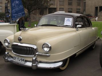 1951 Nash Statesman Super Four-Door Sedan