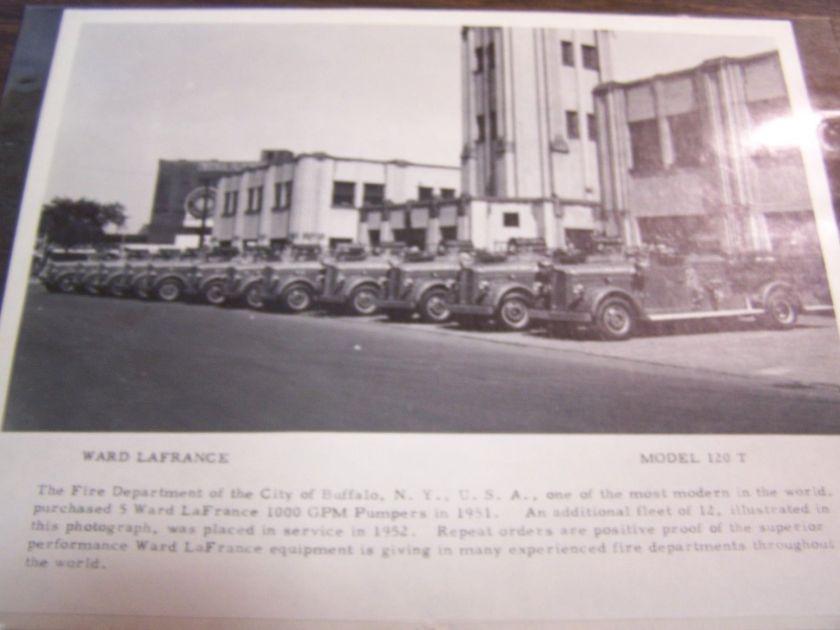 1951 Ward LaFrance in line