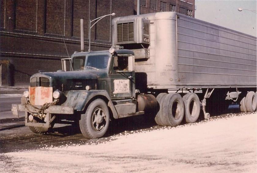 1951 Ward LaFrance tractor trailer