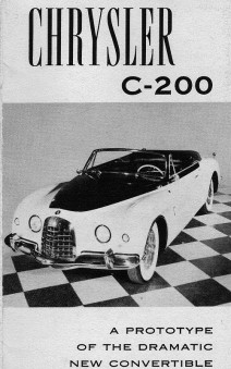 1952 Chrysler c200 a