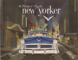 1952 Chrysler new yorker reclame
