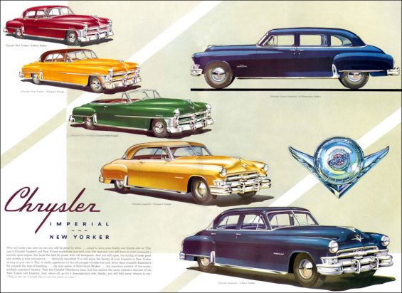 1952 Chrysler new yorker sedan