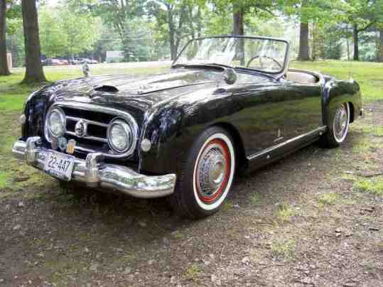 1952 Nash Healey Coupe