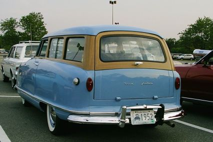 1952 Nash Rambler Custom Greenbrier station wagon