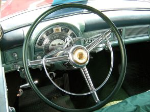 1953 Chrysler Imperial Custom coupe interior